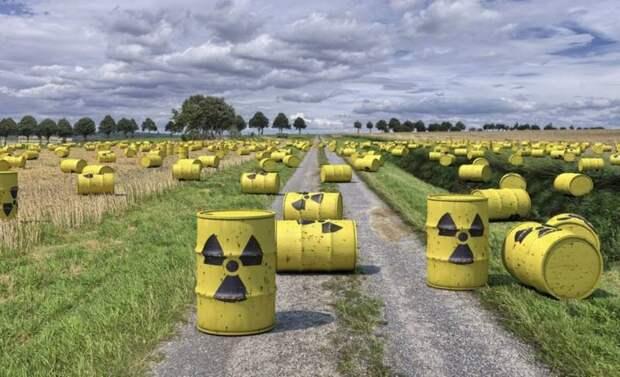 Украинские ядерные отходы хотят пустить в ход против России