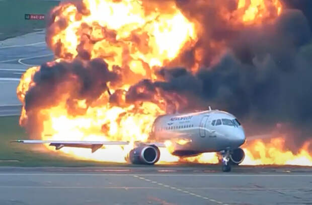 Авиакатастрофа Суперджета 5.05.2019 в Шереметьево.(2020) Фото: СКР