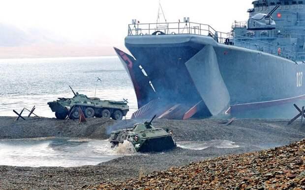 Зачем Москва наращивает десантные возможности в Черном море