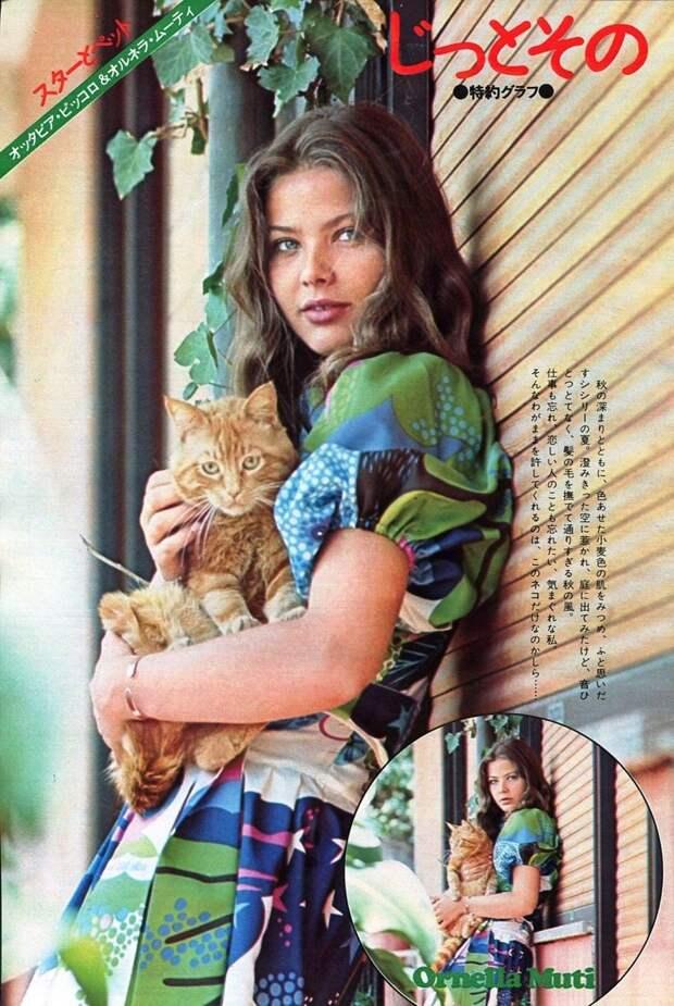 Лучшее из фотосессий с молодой Орнеллой Мути Орнелла Мути, голливуд, кино, фото