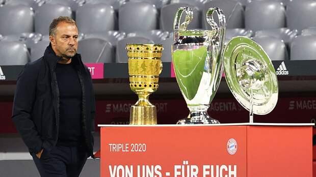 Флик — о разгроме «Зальцбурга»: «Для зрителей это определенно был топ-матч, для тренеров — не такой уж топ»