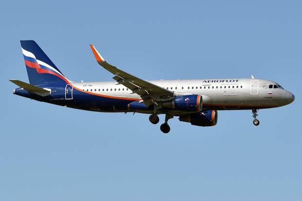 Самолёт «Аэрофлота» вырабатывает топливо над Москвой перед аварийной посадкой
