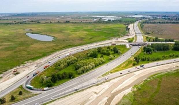 До двух полос сузят Южный подъезд к Ростову с 10 июня