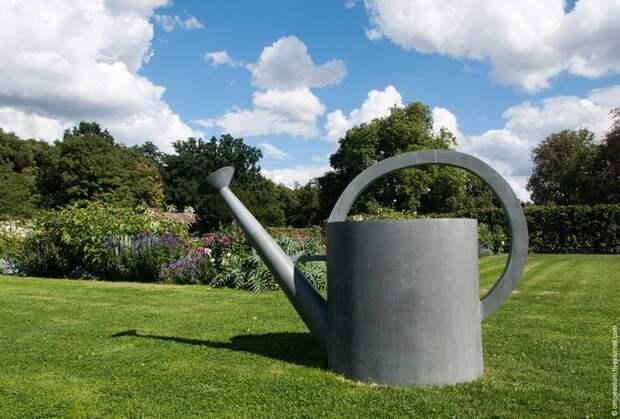 Сен-Жан — сад-огород в окрестностях Парижа… (17 фото)