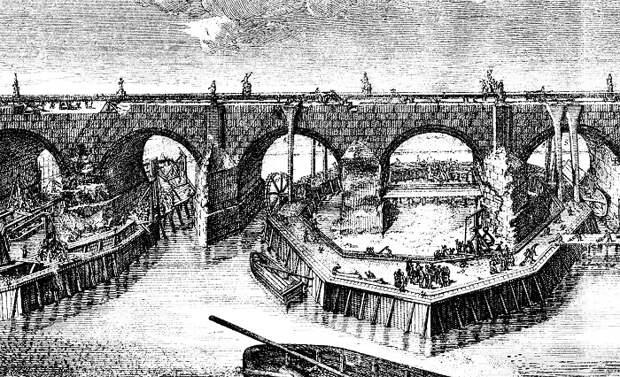 Гравюра Карла Saltzera (1784 г.). | Фото: praha-archeologicka.cz.