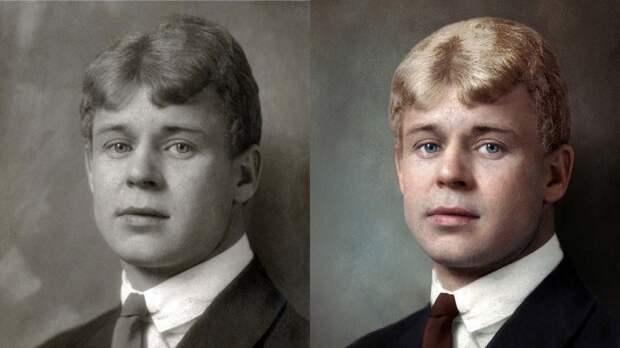 До и после: художница раскрасила портреты известных писателей (ФОТО)