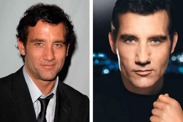 Нереально красивые: знаменитые мужчины до и после фотошопа