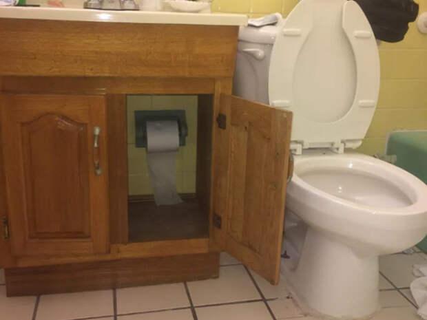 Самый настоящий туалетный кошмар