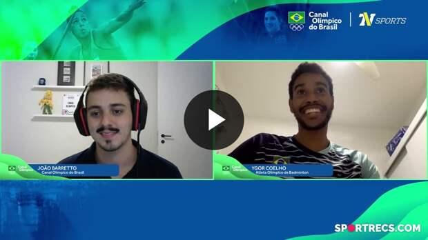 Fala Aí #14: Ygor Coelho, jogador de badminton brasileiro (05/05/2021)