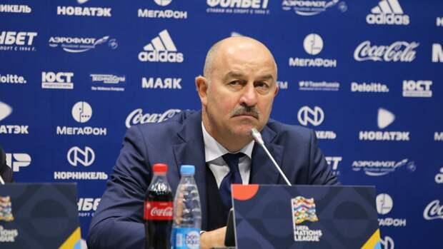 Черчесов ждет колоссальную самоотдачу российских футболистов на Евро-2020