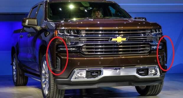 Chevrolet упростит к 2022 году переднюю часть Silverado