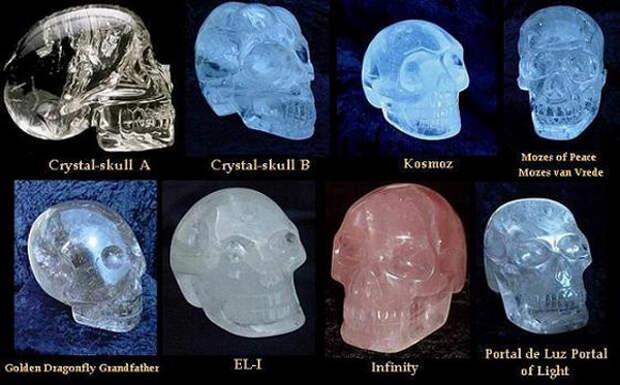 Чьи они - Хрустальные черепа?