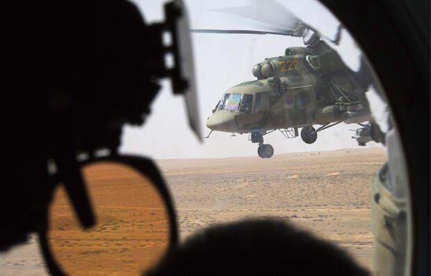 В Сирии сбит российский вертолёт – пять человек на борту погибли