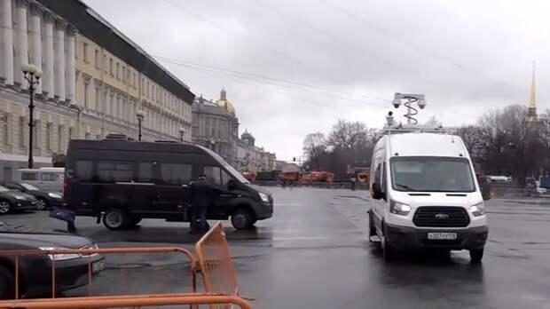 В городах России прошли несогласованные акции протеста