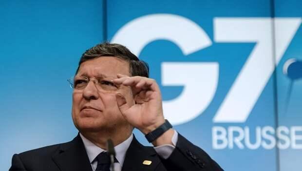 Председатель Европейской комиссии Жозе Мануэл Баррозу. Архивное фото