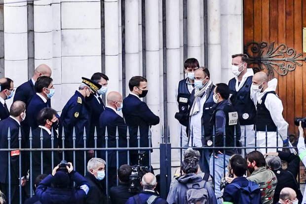 Невесёлые картинки: Франция нарисовала себе смерть