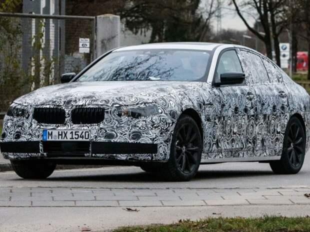Новый BMW 5-й серии выйдет с двумя вариантами передней подвески