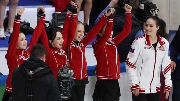 Русские девушки совершили камбэк в прыжковом турнире и унизили парней
