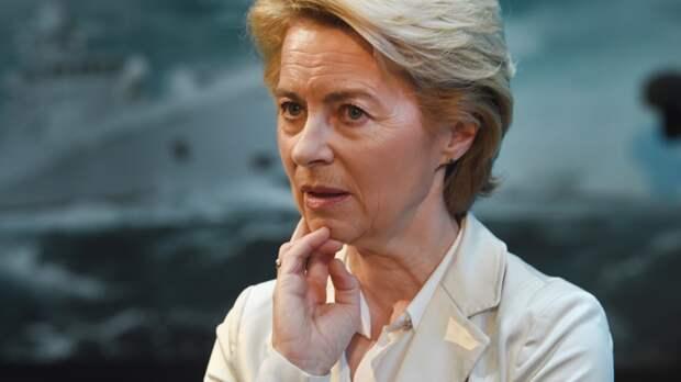 Урсула фон дер Ляйен уходит с поста министра обороны Германии