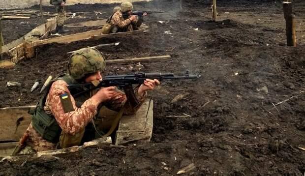 Боевиков ВСУ заметили на оставленных позициях у линии фронта