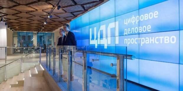 Сергунина подвела итоги трех лет работы «Цифрового делового пространства». Фото: Е. Самарин mos.ru