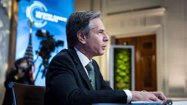 Блинкен заявил о продуктивных переговорах с Зеленским