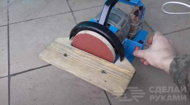 Шлифовальный станок для домашней мастерской (бюджетный вариант)