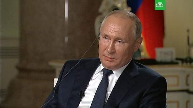 Путин ответил на вопрос о том, убийца он или нет