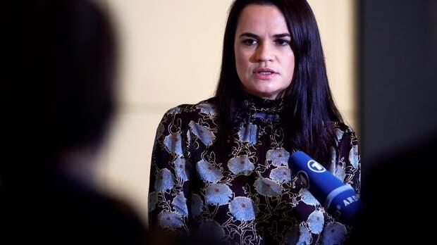 За что Россия объявила в розыск Тихановскую?
