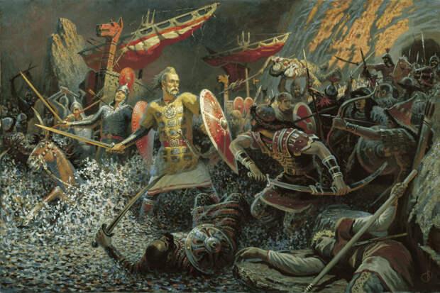 Воин славный Святослав… Будь человеком! (обзор личных воинских качеств Князя)