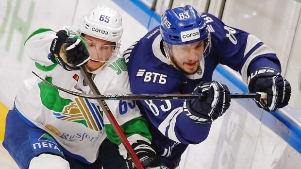 Лямся назвал 3 составляющие победы «Салавата Юлаева» над московским «Динамо»