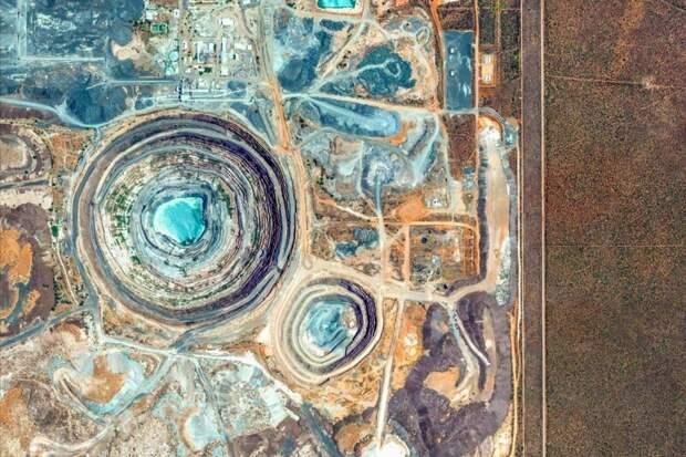 20 самых красивых снимков со спутника из новой коллекции Google Earth