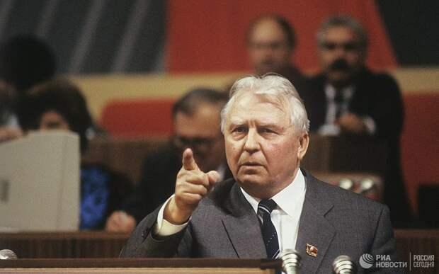 Умер бывший секретарь ЦК КПСС Егор Лигачёв