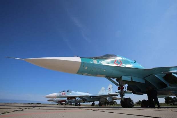 В России опровергли информацию о производстве Су-34 для Алжира