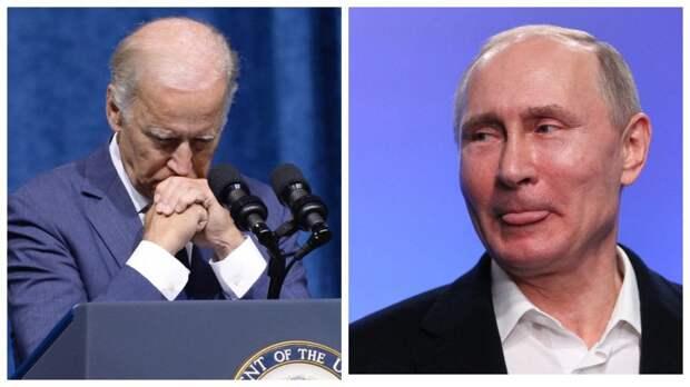 Смешно, ей Богу! С виду Байден – в отражении Путин: а вы видели нашумевшую обложку Time?