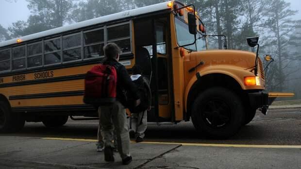 Автобус с детьми загорелся после ДТП на Кубани