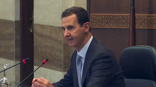 Башар Асад вновь баллотируется на пост президента Сирии