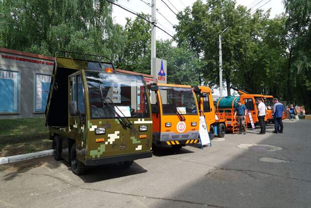 В Сарапуле выпустили первый в России электротягач