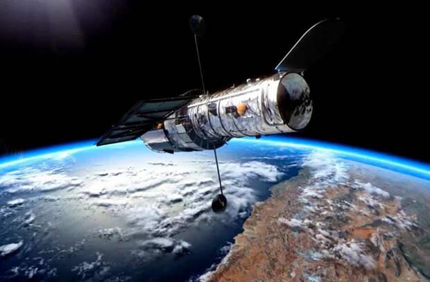 У телескопа «Хаббл» возникла проблема с бортовым компьютером