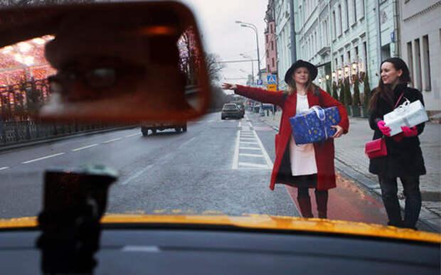 Когда люди чаще ездят на такси? Исследование