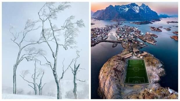 10 финалистов конкурса пейзажной фотографии The Independent Photographer