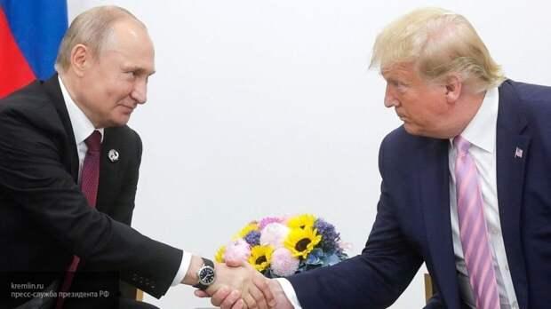 Трамп отверг упреки в свой адрес из-за хороших отношений с Путиным
