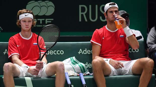 Хачанов и Рублёв снялись с турнира в Риме в парном разряде