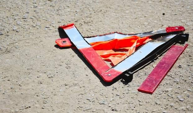 Водитель иномарки жестко сбил девушку в Петрозаводске