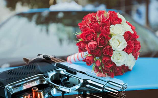 ГИБДД разоружила очередную стреляющую свадьбу