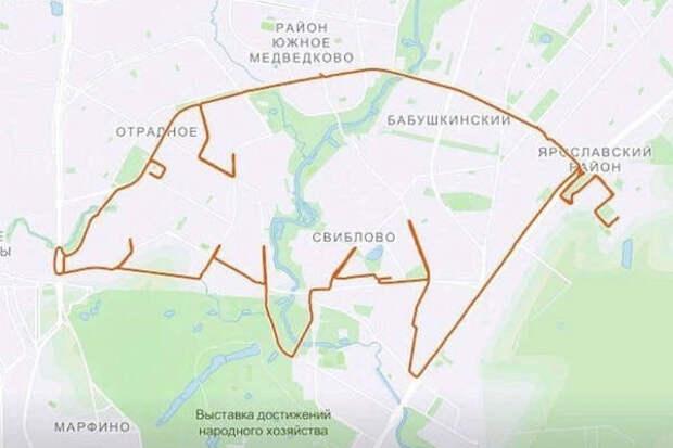 «Свинский заезд»: как российский велосипедист начал рисовать на картах районов