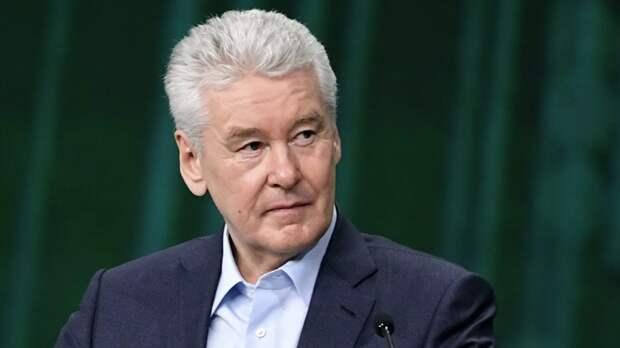 Собянин стал лидером в рейтинге глав регионов
