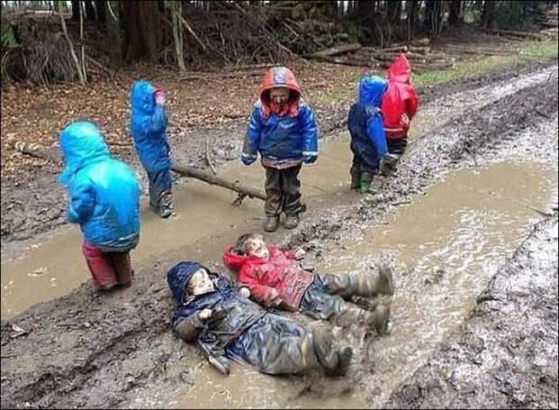 Веселые детишки удивляют родителей (11 фото)