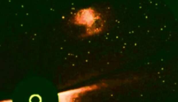 Телескоп SOHO сфотографировал нечто, очень похожее на Нибиру.
