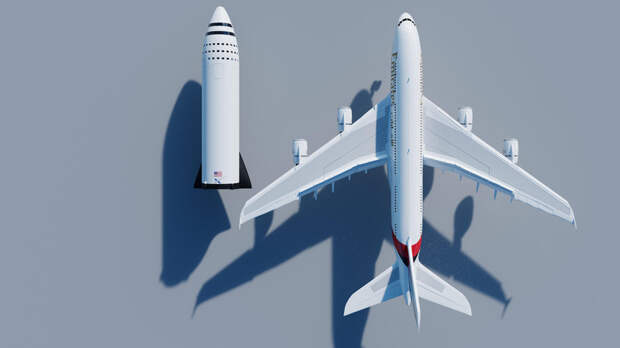 Big Falcon Rocket (BFR) (SpaceX) иSpace Launch System (SLS) (Boeing, ULA, Northrop Grumman)